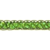 Sequin 6mm Round Trim Lime Green Hologram